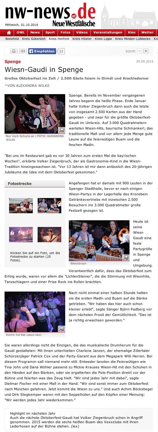 Oktoberfestband-LichtenSteiner-Oktoberfest-nw-news-Spenge