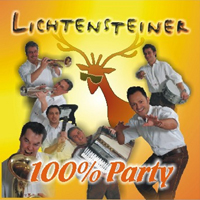 Oktoberfestband Lichtensteiner HundertprozentParty CD