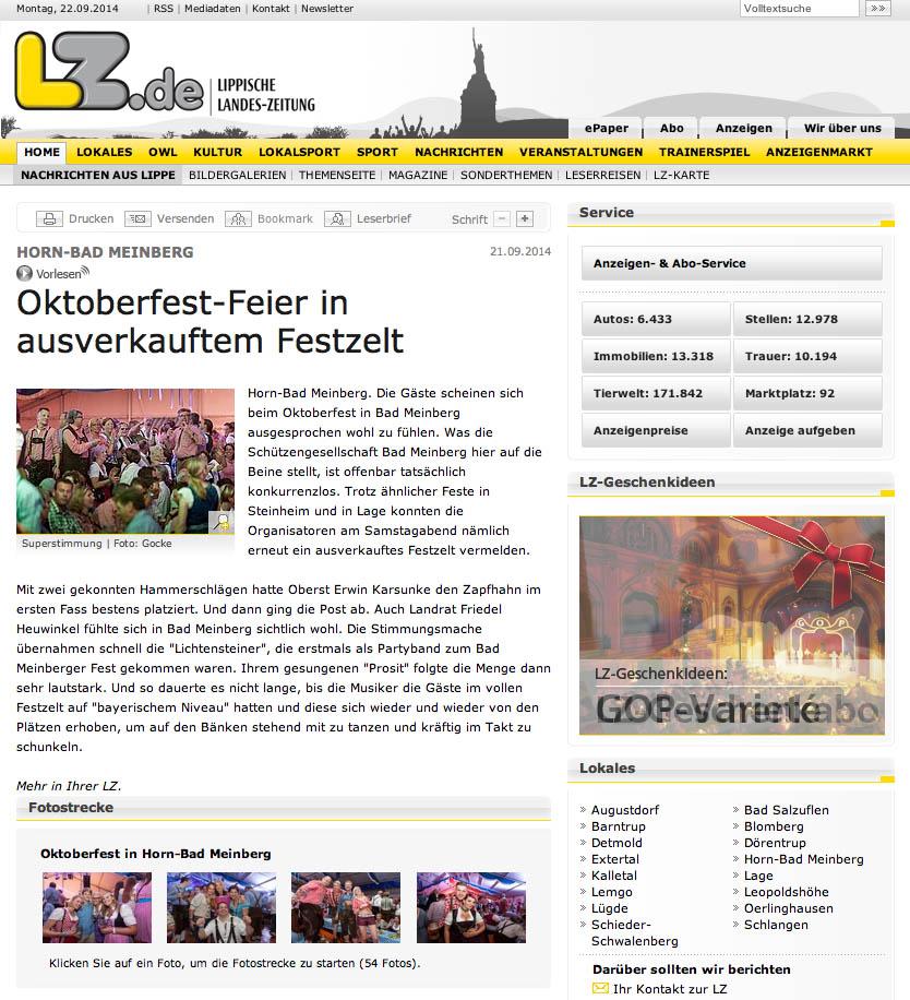 Oktoberfestband-Lichtensteiner-Oktoberfest-Lippische-Landeszeitung-Horn-Bad-Meinberg