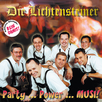 Oktoberfestband Lichtensteiner Party Power Musi CD