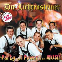 Oktoberfestband Lichtensteiner Party Power Musi CD