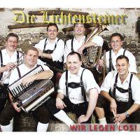 Oktoberfestband Lichtensteiner Wir legen los