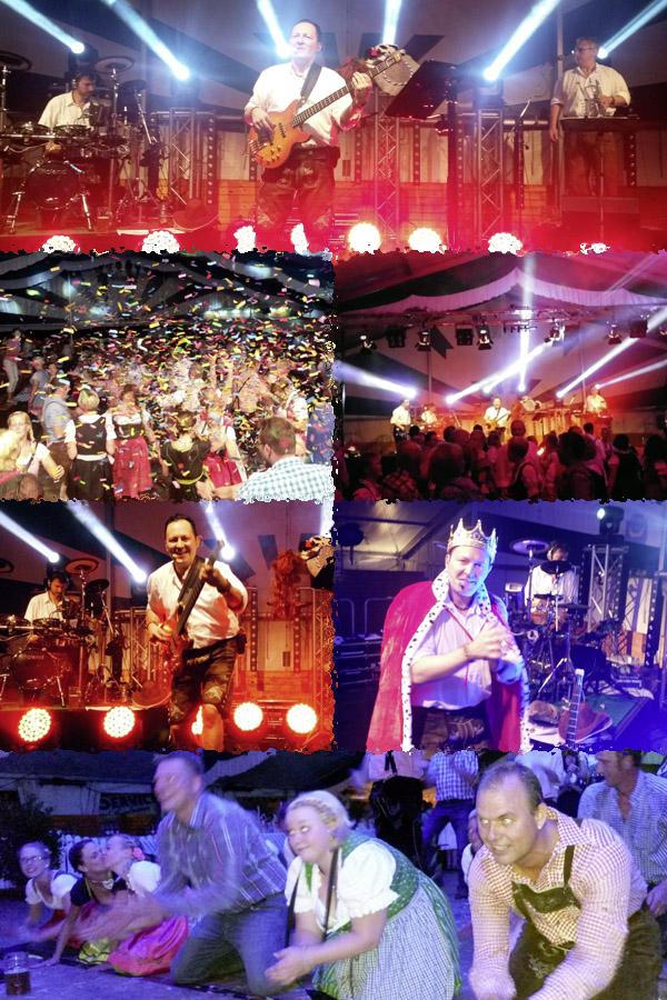 Oktoberfestband-Lichtensteiner-beim-Warm-Up-in-Oelde-Tag-2014